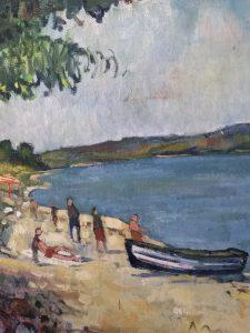 Stranden nedenfor Lille Klit